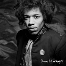 Jimi Hendrix, 12 trabajos inéditos People, Hell &Angels