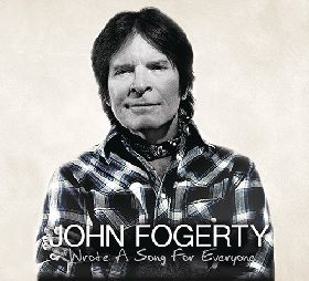 Jonh Fogerghy, lanza su último trabajo, Wrote a song for everyone