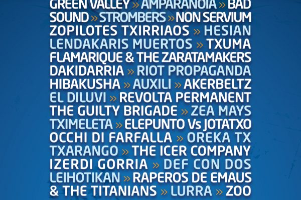 Hatortxu Rock  20 Suma 30 Nuevos Nombres Al Cartel / Hatortxu Rock 20; 30 Konfirmazio Berri