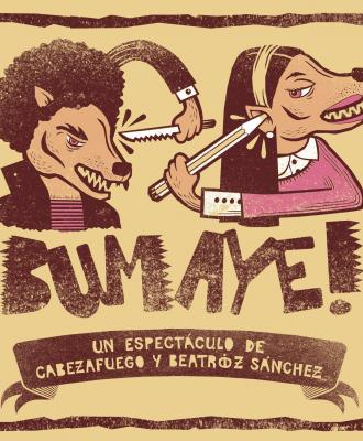 El Espectáculo De Música En Directo Y Videoarte 'Bumayé!' Iluminará Mañana Jueves La Trasera Del Teatro Gayarre