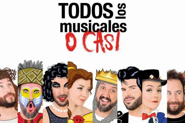 """Demode Quartet Estrena Mañana Viernes En Baluarte """"Musikal Guztiak Ia Ia"""", Espectáculo En Euskera En El Que Versionan Con Humor Una Veintena De Musicales"""