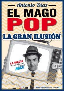 El Mago Pop Presenta 'La Gran Ilusión' En Baluarte De Viernes A Domingo