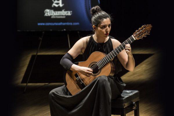 Master Class Y Recital De Guitarra De Andrea González (ganadora Del XIII Concurso Internacional Alhambra)