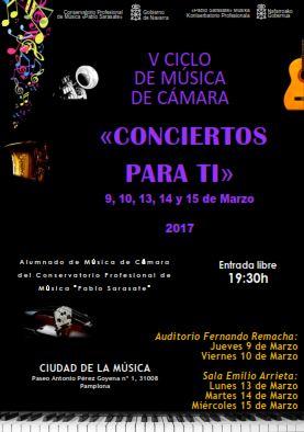 """V Ciclo De Música De Cámara """"Conciertos Para Ti"""""""