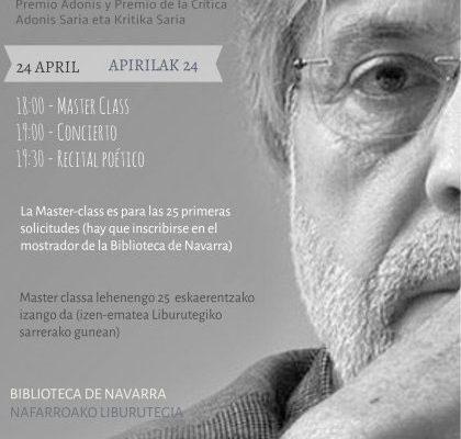 Agenda Cultural Del Gobierno De Navarra Para Esta Semana
