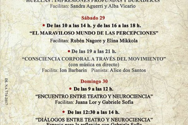 """Encuentro De Expresión Artística, Teatro Y Neurociencia """"El Juego De Los Espejos"""""""