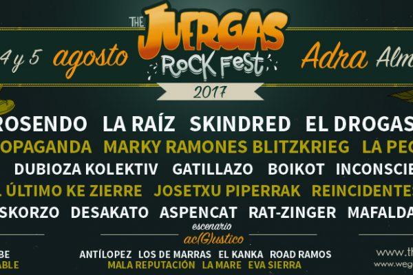 Cinco Nuevos Grupos Se Suman A La V Edición De The Juerga's Rock Festival