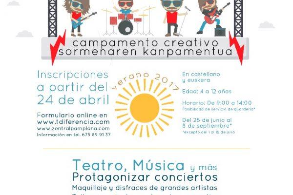 Campamento De Verano, Inscripciones Zentral Kids Campamento Creativo De Verano