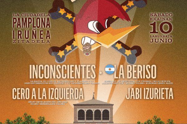 """Loquillo Y El Dromedario Records Presentan """"Salud Y Rock & Roll"""" En Pamplona"""