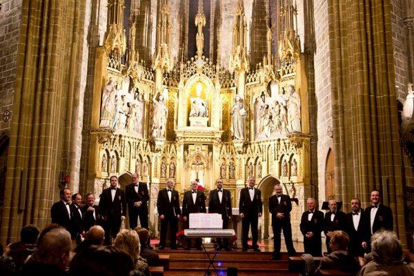 El Coro Voces Graves De Pamplona Cierra El 21 De Mayo El Ciclo Músicas De Domingo Con Un Concierto En Civivox Condestable