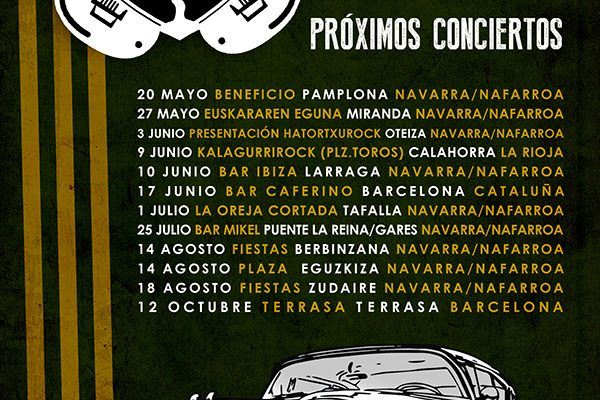 """ImpedanZia, Las Fechas Del Tour """"Estrellados"""""""