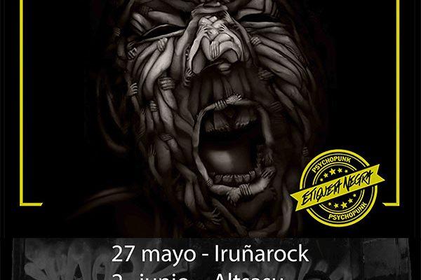 """PURAPOSSE, Presentan """"Etiqueta Negra"""" En El Iruña Rock"""