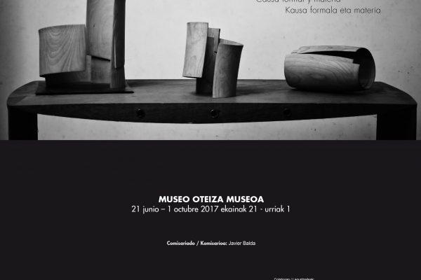 """El Museo Oteiza Presenta La Exposición """"José Ramón Anda. Causa Formal Y Materia"""""""