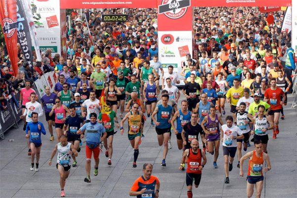 La Celebración Este Sábado Por La Tarde Noche De La San Fermín Marathon Provocará Alteraciones En El Trafico Del Centro De La Ciudad, Ensanches Y San Juan, Principalmente