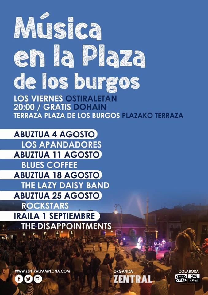 Musica en la plaza…