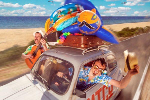 Tarde De Jueves De Playa Y Circo En La Ciudadela Con Txori García Y Ion Barbarin Y Su 'Amico On The Beach', Y El Espectáculo Circense De Nueveuno 'Sinergia 3.0'
