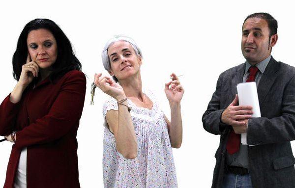 """TEATRO GAYARRE """"100 METROS CUADRADOS"""" •Sábado 28 De Octubre, 20.00 H. •Teatro En Lengua De Signos •60 Aniversario De La Asociación De Personas Sordas De Navarra (ASORNA)"""