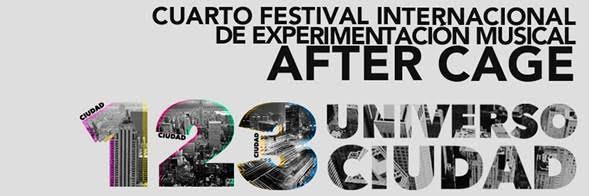 Grandes Instrumentos, Compositores E Intérpretes Para El Segundo Concierto Del IV Festival After Cage