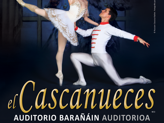 RUSSIAN CLASSICAL BALLET LLEGA A BARAÑAIN EL PRÓXIMO 14 DE ENERO CON EL CASCANUECES