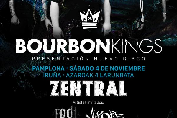Presentación De No Soy Real, Video Liric De Bourbon Kings: Disco A La Venta El 20 De Octubre