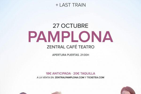 La Banda Portuguesa THE GIFT Actuará En PAMPLONA, 27 Octubre