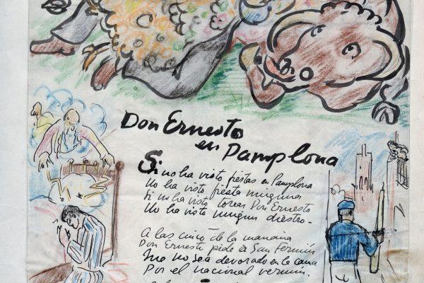 La Pamplona Vanguardista Que Hemingway Contribuyó A Crear: Del 1 Al 10 De Diciembre Nuevas Actividades Sobre La Figura Del Periodista Escritor Norteamericano