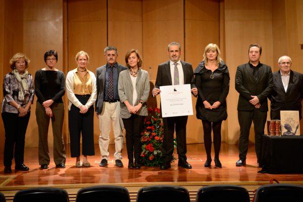 La Consejera Ollo Ha Entregado En Madrid El Premio Lázaro Galdiano A La Editorial Millenium Liber