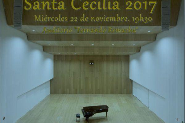 Celebración De Santa Cecilia En El Conservatorio Superior De Música De Navarra