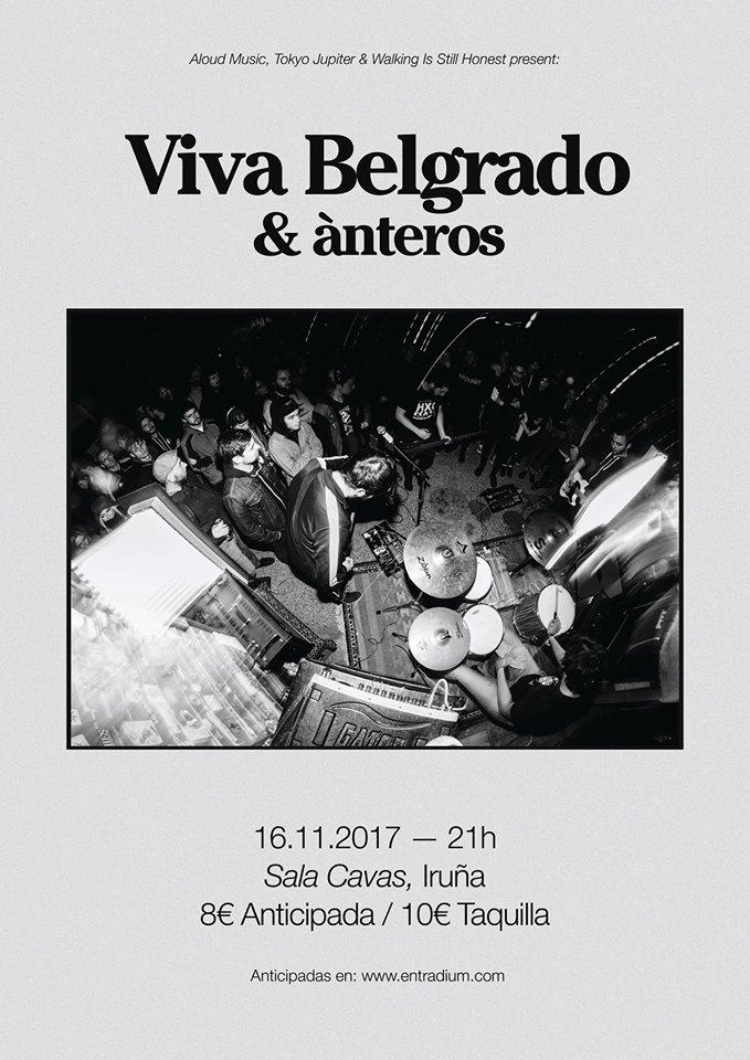 Viva Belgrado Cartel Pamplona