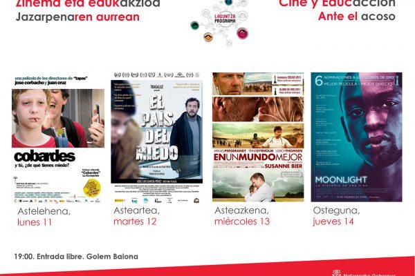 """Educación Presenta El Cine-fórum """"Cine Y Educcación Ante El Acoso"""""""