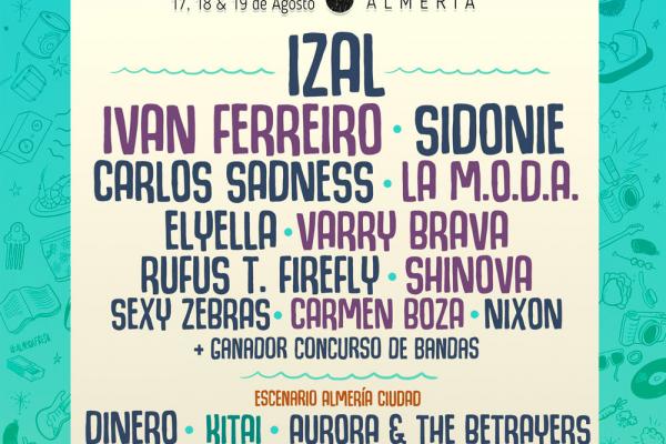Nace CoolturalFest, Del 17 Al 19 De Agosto En Almería