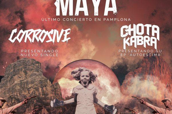 Dawn Of The Maya – Corrosive – Chotakabra – Otsailak/February 17 De Febrero – ZENTRAL