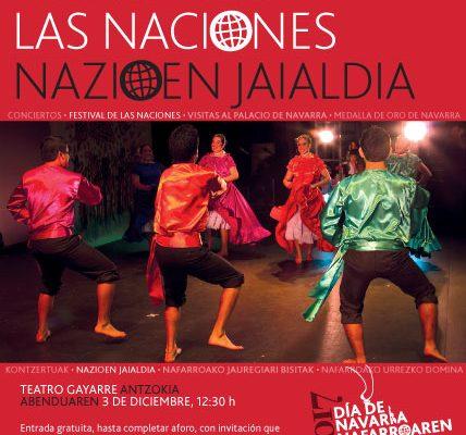 Actos Institucionales Y Conciertos Protagonizan La Celebración Del Día De Navarra Este Domingo