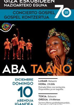 Concierto De Música Africana Para Conmemorar El Día Internacional De Los Derechos Humanos