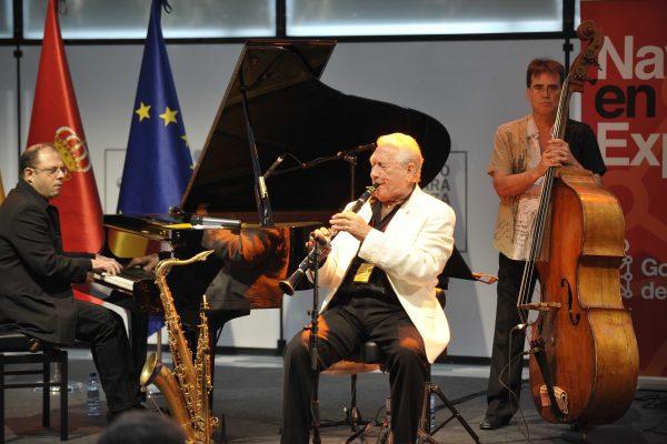 """El Gobierno De Navarra Concede El Premio """"Francisco De Javier"""" 2017 Al Saxofonista Y Compositor Pedro Iturralde Ochoa"""
