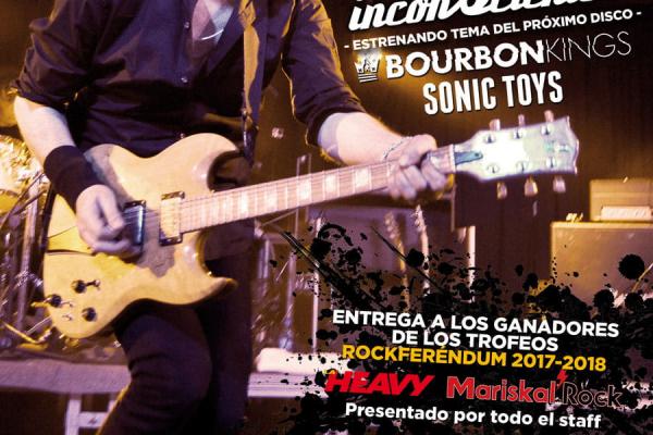 Inconscientes, Bourbon Kings Y Sonic Toys En La Fiesta De La Heavy Nº 400