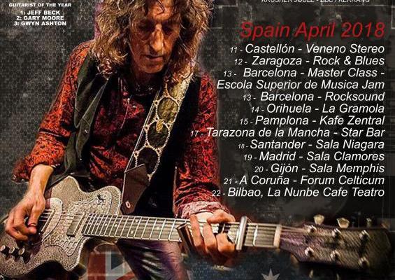 GWYN ASHTON & THE BORN-AGAIN SINNERS Llegan A España En Abril